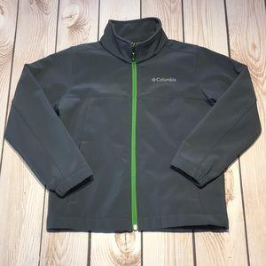 Columbia boy's soft shell zip jacket